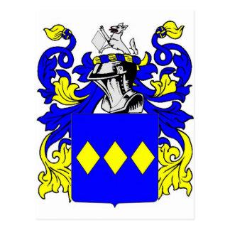 Escudo de armas (inglés) de Freeman Tarjeta Postal