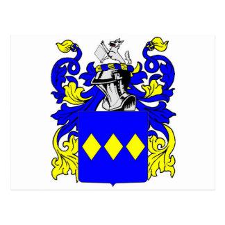 Escudo de armas inglés de Freeman Tarjeta Postal