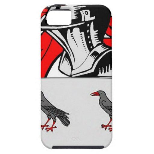 Escudo de armas (inglés) de Jones iPhone 5 Case-Mate Cobertura