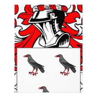 Escudo de armas (inglés) de Jones Membrete