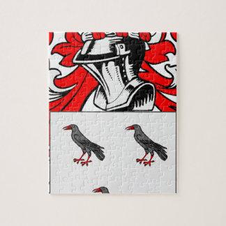 Escudo de armas (inglés) de Jones Rompecabeza Con Fotos