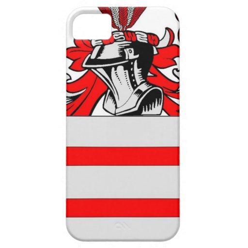 Escudo de armas (inglés) de Martin iPhone 5 Case-Mate Fundas