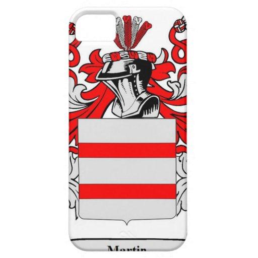 Escudo de armas (inglés) de Martin iPhone 5 Case-Mate Protectores
