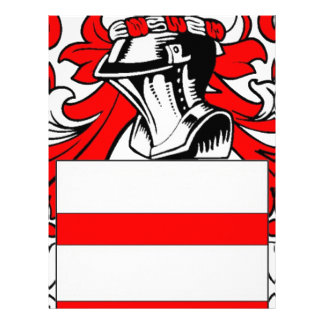 Escudo de armas (inglés) de Martin Membretes Personalizados