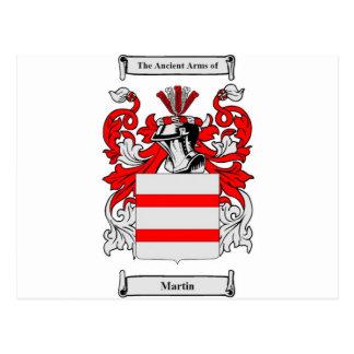 Escudo de armas (inglés) de Martin Postal