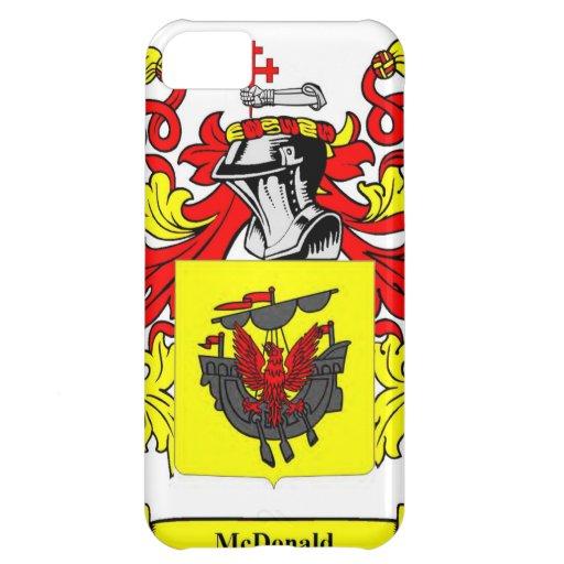 Escudo de armas (inglés) de McDonald