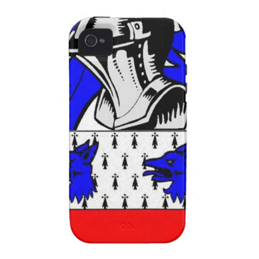 Escudo de armas (inglés) de Miller Case-Mate iPhone 4 Fundas