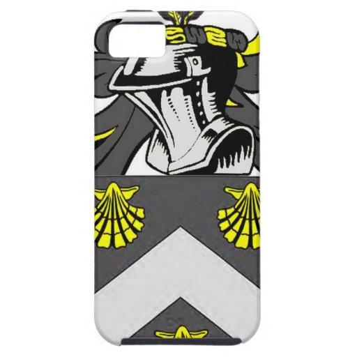 Escudo de armas (inglés) de Mitchell iPhone 5 Coberturas