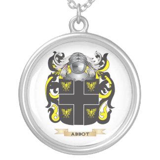 Escudo de armas (inglés) del abad (escudo de la fa colgante redondo