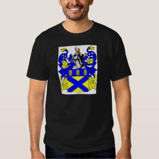 Escudo de armas (inglés) del tonelero remeras