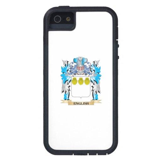 Escudo de armas inglés - escudo de la familia iPhone 5 Case-Mate protectores