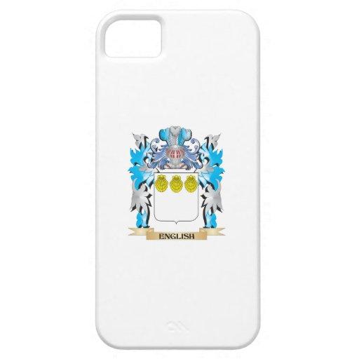 Escudo de armas inglés - escudo de la familia iPhone 5 Case-Mate carcasas