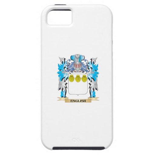Escudo de armas inglés - escudo de la familia iPhone 5 coberturas