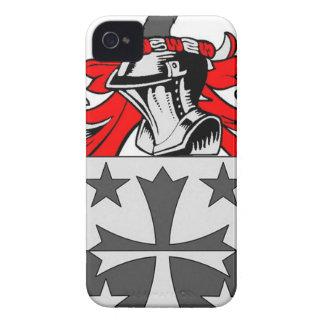 Escudo de armas (irlandés) de Coleman Case-Mate iPhone 4 Fundas