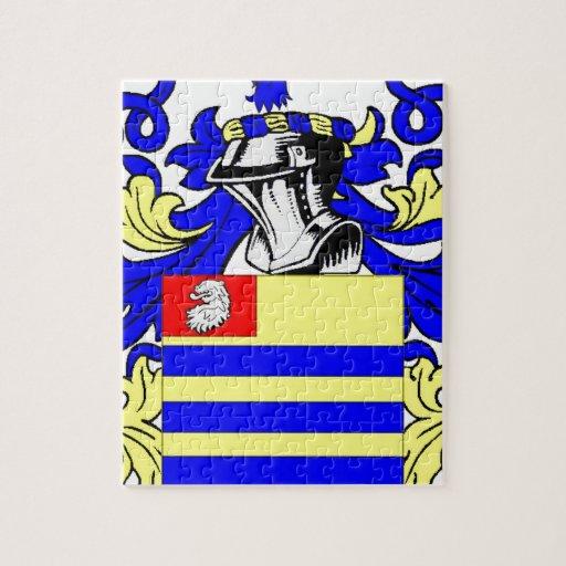 Escudo de armas (irlandés) de $cox rompecabeza