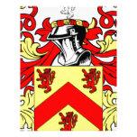 Escudo de armas (irlandés) de Hughes Plantillas De Membrete