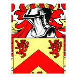 Escudo de armas (irlandés) de Hughes Membrete A Diseño