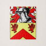 Escudo de armas (irlandés) de Hughes Rompecabeza Con Fotos