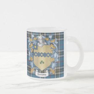 Escudo de armas (irlandés) de la familia de taza de cristal
