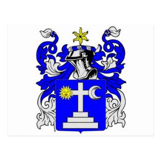 Escudo de armas (irlandés) de Martin Postal