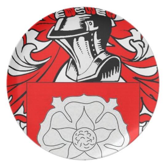 Escudo de armas (irlandés) de McBride Plato