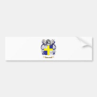 Escudo de armas (irlandés) de Osbourne (escudo de  Etiqueta De Parachoque