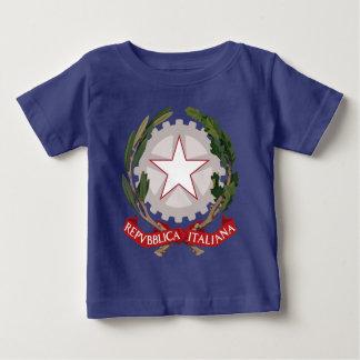 Escudo de armas italiano playera para bebé
