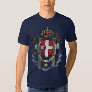 Escudo de armas italiano polera