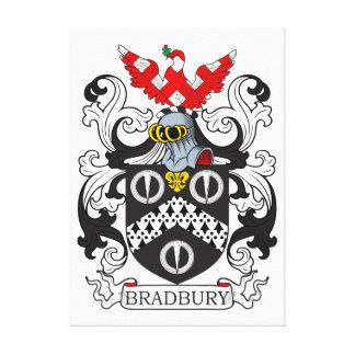 Escudo de armas IV de Bradbury Lienzo Envuelto Para Galerias