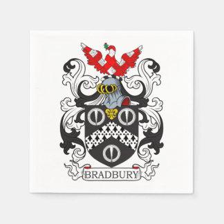 Escudo de armas IV de Bradbury Servilletas Desechables