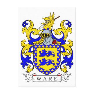 Escudo de armas IV de las mercancías Impresión De Lienzo