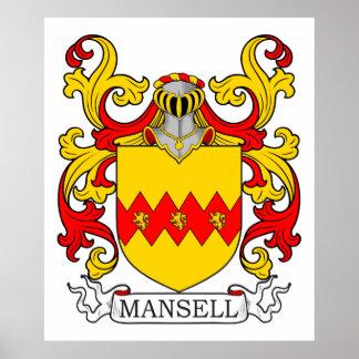 Escudo de armas IV de Mansell Póster