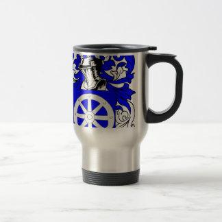 Escudo de armas judío de Miller Taza De Café