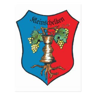 Escudo de armas Kleinschelken Postales