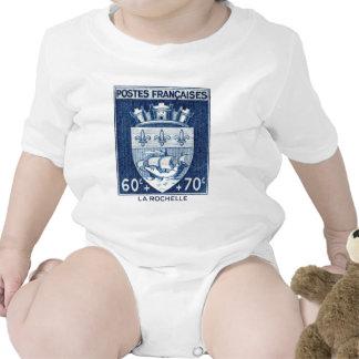 Escudo de armas, La Rochelle Francia Trajes De Bebé