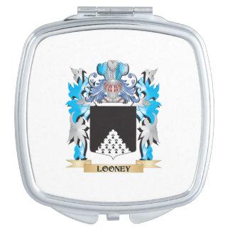 Escudo de armas Looney - escudo de la familia Espejo De Viaje