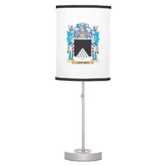Escudo de armas Looney - escudo de la familia Lámpara De Mesa