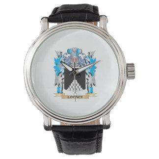 Escudo de armas Looney - escudo de la familia Relojes