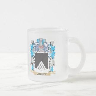 Escudo de armas Looney - escudo de la familia Taza De Cristal