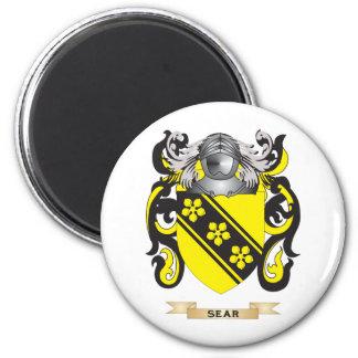 Escudo de armas marchito (escudo de la familia) iman de frigorífico