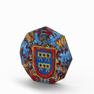 Escudo de armas medieval