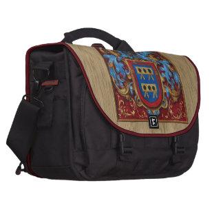 Escudo de armas medieval bolsas para portátil