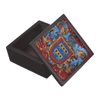 Escudo de armas medieval cajas de regalo de calidad
