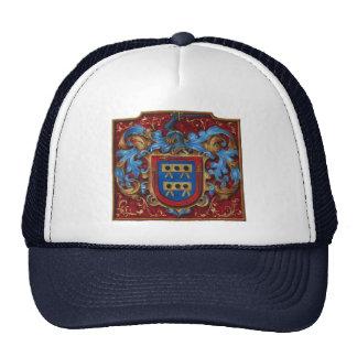 Escudo de armas medieval gorras