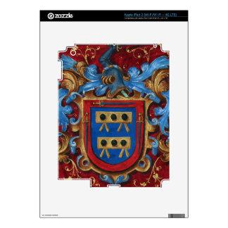 Escudo de armas medieval iPad 3 skins