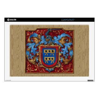 Escudo de armas medieval portátil skin