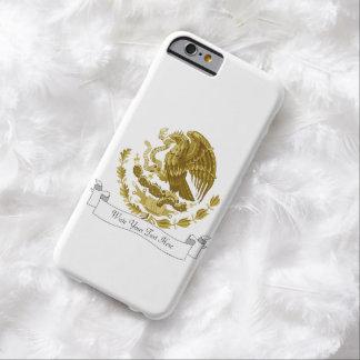 Escudo de armas mexicano funda para iPhone 6 barely there