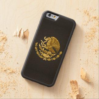 Escudo de armas mexicano funda de iPhone 6 bumper arce