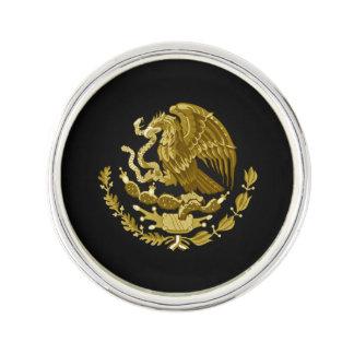 Escudo de armas mexicano pin