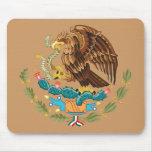 Escudo de armas México Tapetes De Ratones